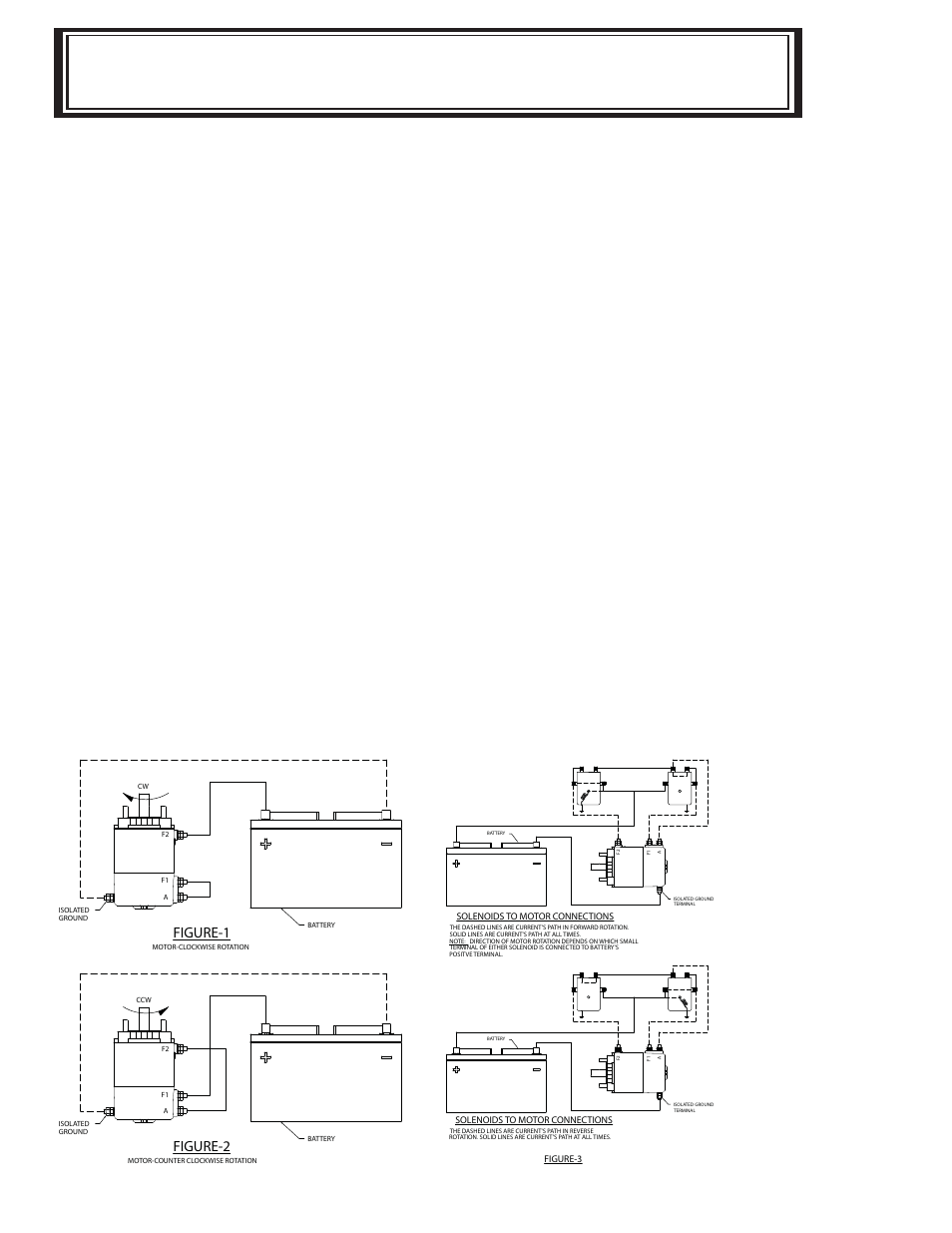 Test procedure for motor | Ramsey Winch RE-8000/10000/12000/12000X User  Manual | Page 19 / 20
