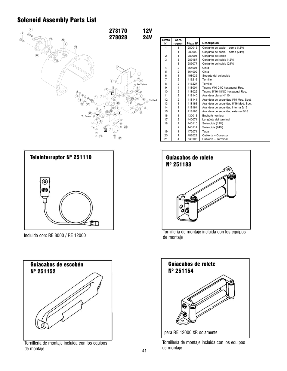 Ramsey Re 10000 Winch Wiring Diagram Schematics Diagrams Pierce 8000 Manual Badlands Remote