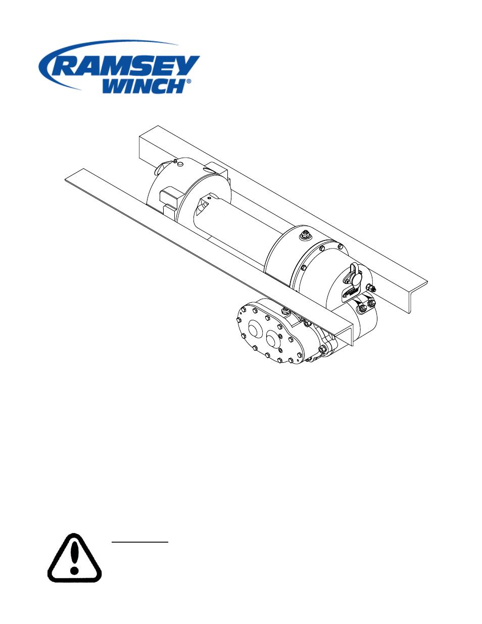 Ramsey Winch Wiring Diagram Ram Library Of Diagrams Pierce Dc 200 Series Lok User Manual 28 Pages Rh Manualsdir Com