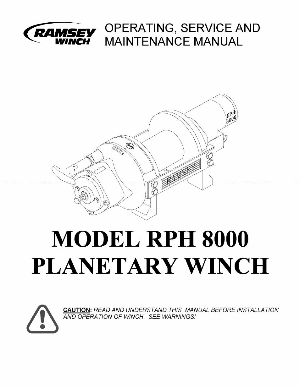 Outstanding Ramsey Winch 246l Festooning - Wiring Diagram Ideas ...