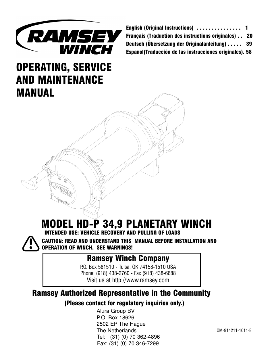 Ramsey Winch Wiring Directions Data Schema 8000 Diagram Hd P 34 9 User Manual 78 Pages