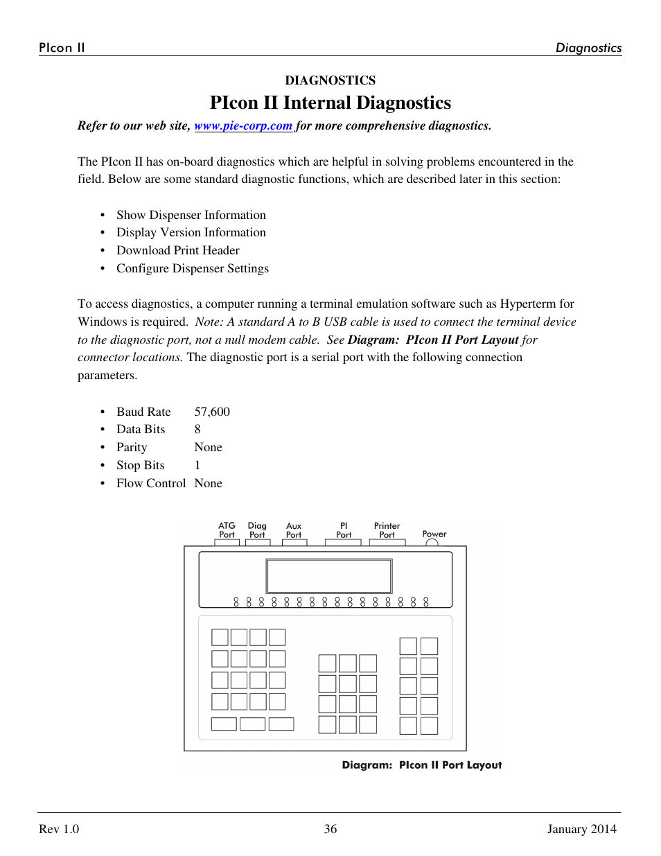 picon ii internal diagnostics progressive international rh manualsdir com 5540 IP Console User Guide User Console Windows 8