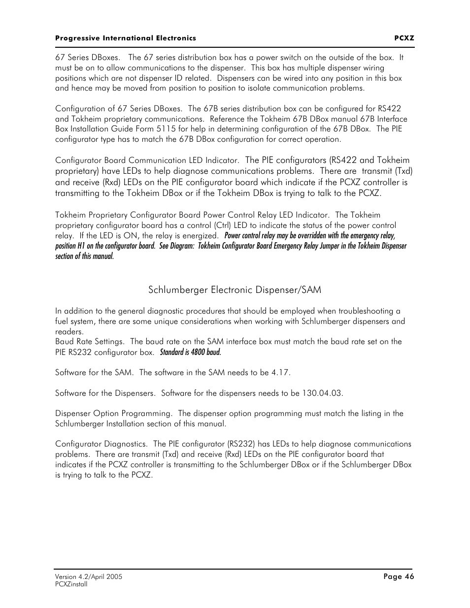 Tokheim 67 Box Manual Ignition Switch Wiring Diagram Additionally John Deere 110 Tlb Backhoe Array Schlumberger Electronic Dispenser Sam Progressive International Rh Manualsdir Com