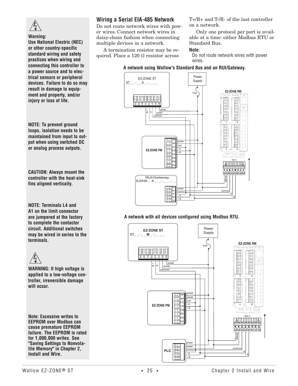 wiring a serial eia 485 network watlow ez zone st user manual Club Car Wiring Diagram