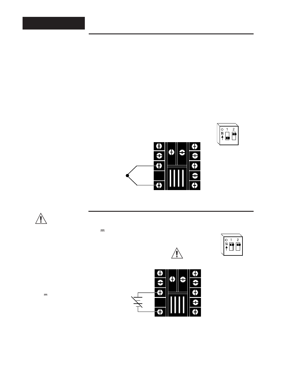 Input wiring, Sensor installation guidelines, Thermocouple