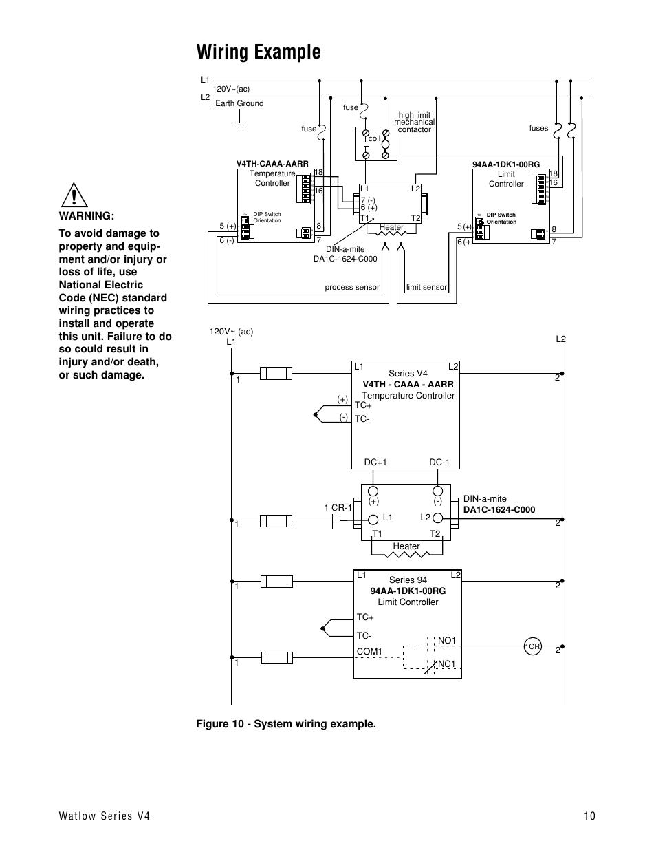 Watlow Wiring Diagram on