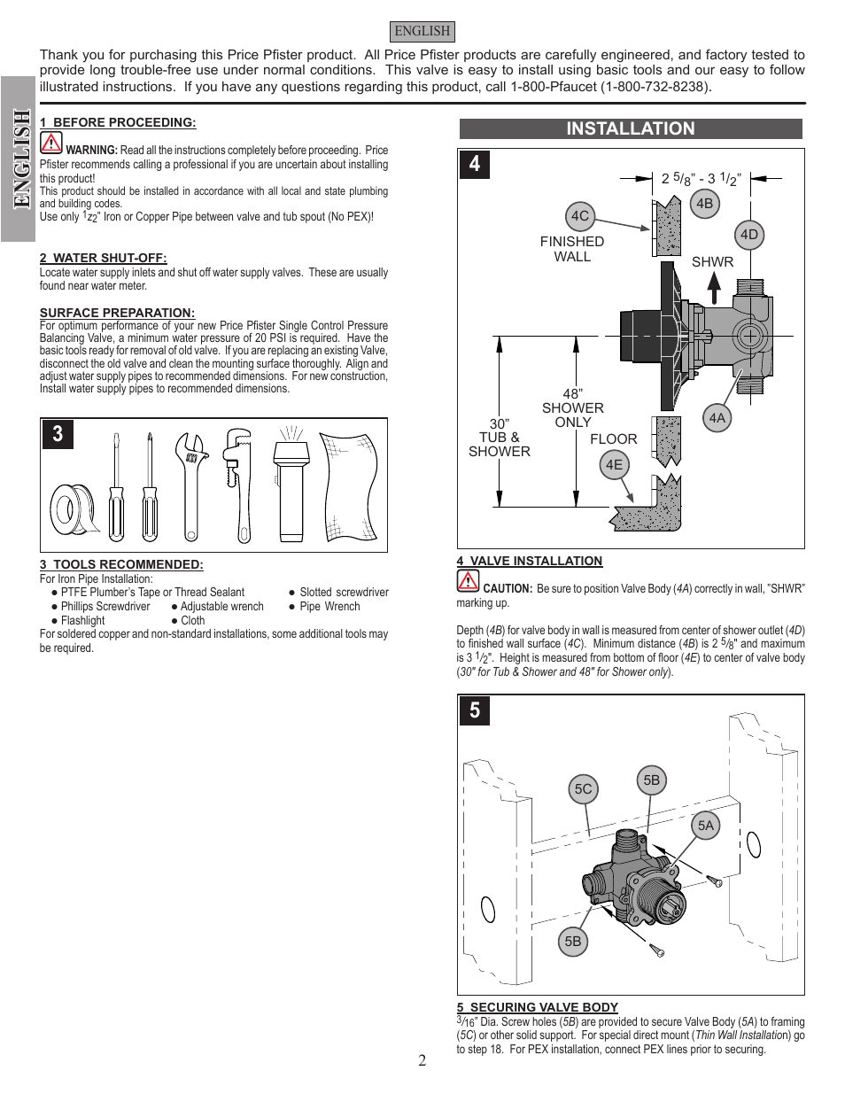 Price Pfister 0x8 Shower Valve Diagram - Circuit Connection Diagram •