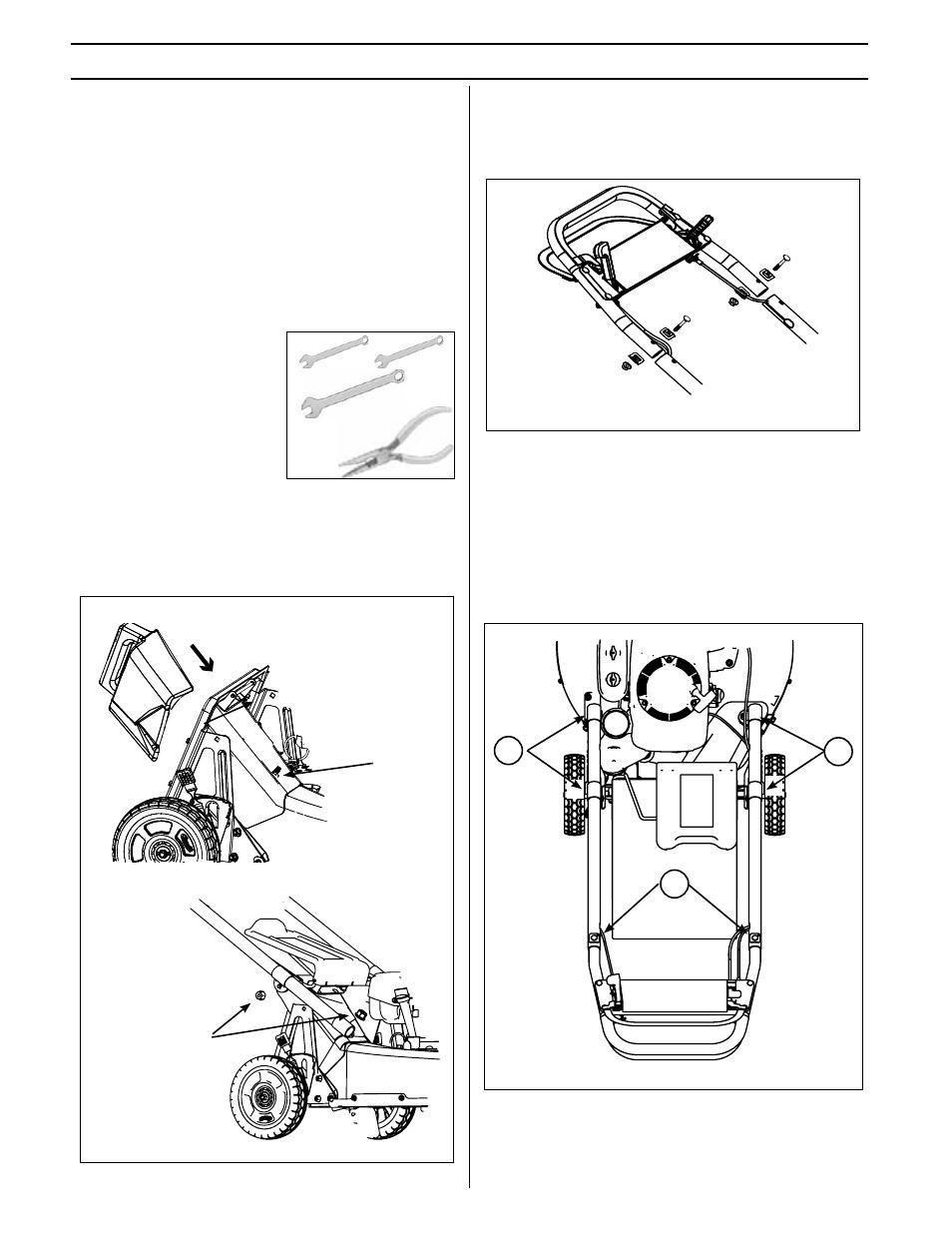 Assembly - setup | Ybravo BRAVO 21 Mower 21- 201 BBC