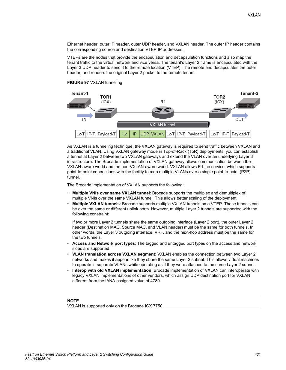 Brocade FastIron Ethernet Switch Platform and Layer 2 Switching