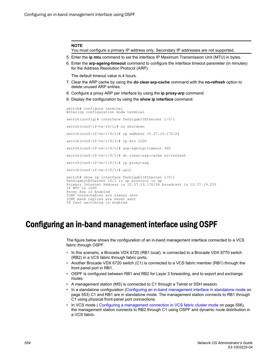 Brocade Network OS Administrator's Guide v4 1 1 User Manual