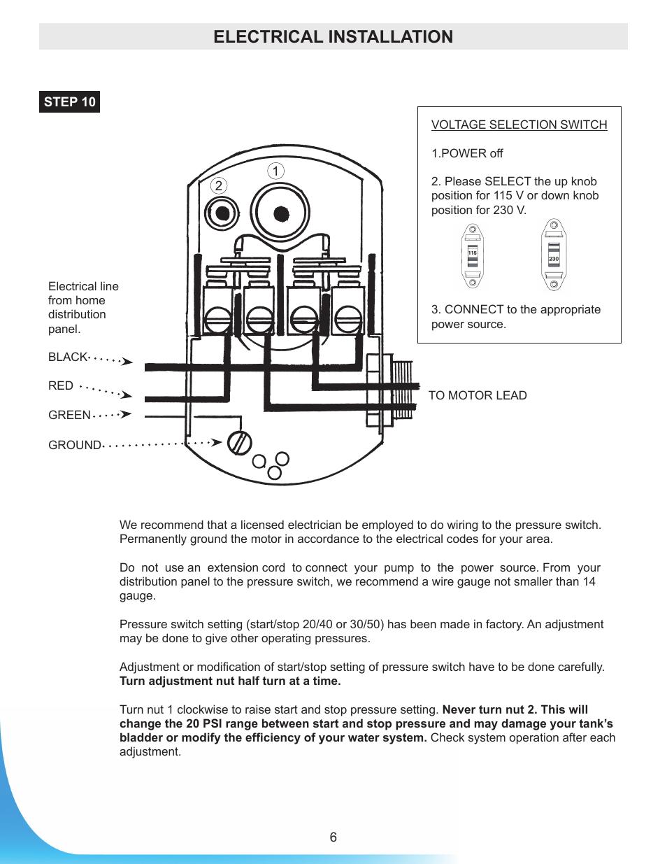 Jet Pump Wiring Just Another Diagram Blog Motor Www Manualsdir Com Manuals 361737 6 Burcam 506518s Rh Broccli Co Goulds