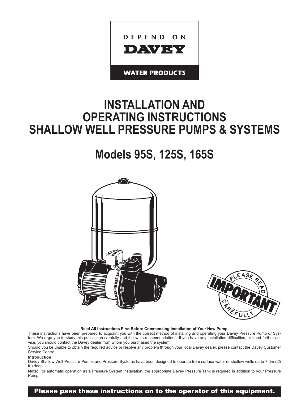 High Pressure Pumps Archives Manual Guide