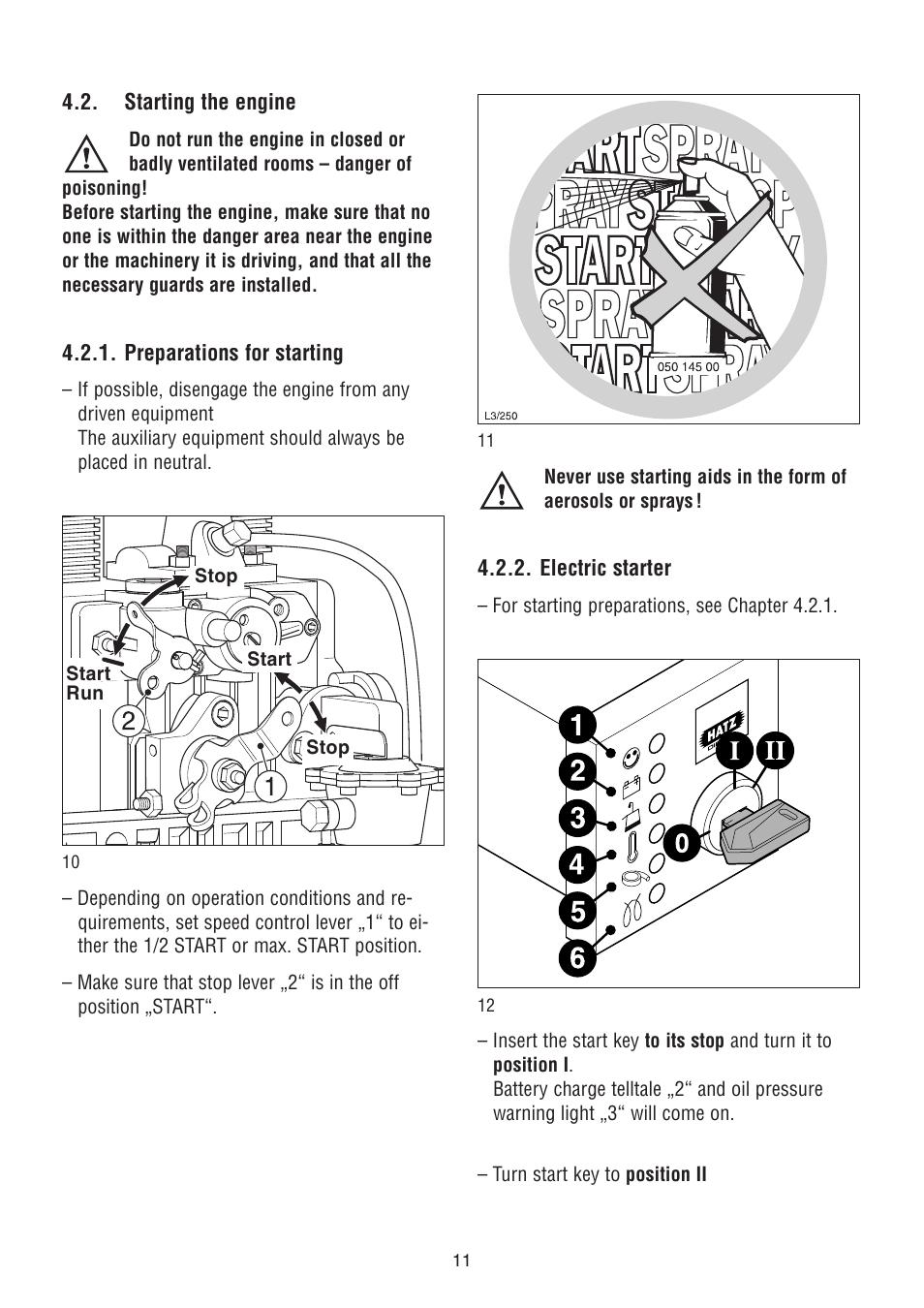 ... Array - hatz diesel 2g40 h user manual page 12 32 also for 2g40 rh  manualsdir ...