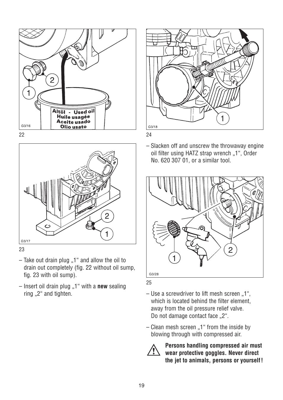 Hatz Diesel 2g40 H User Manual Page 20 32 Also For Engine Diagram