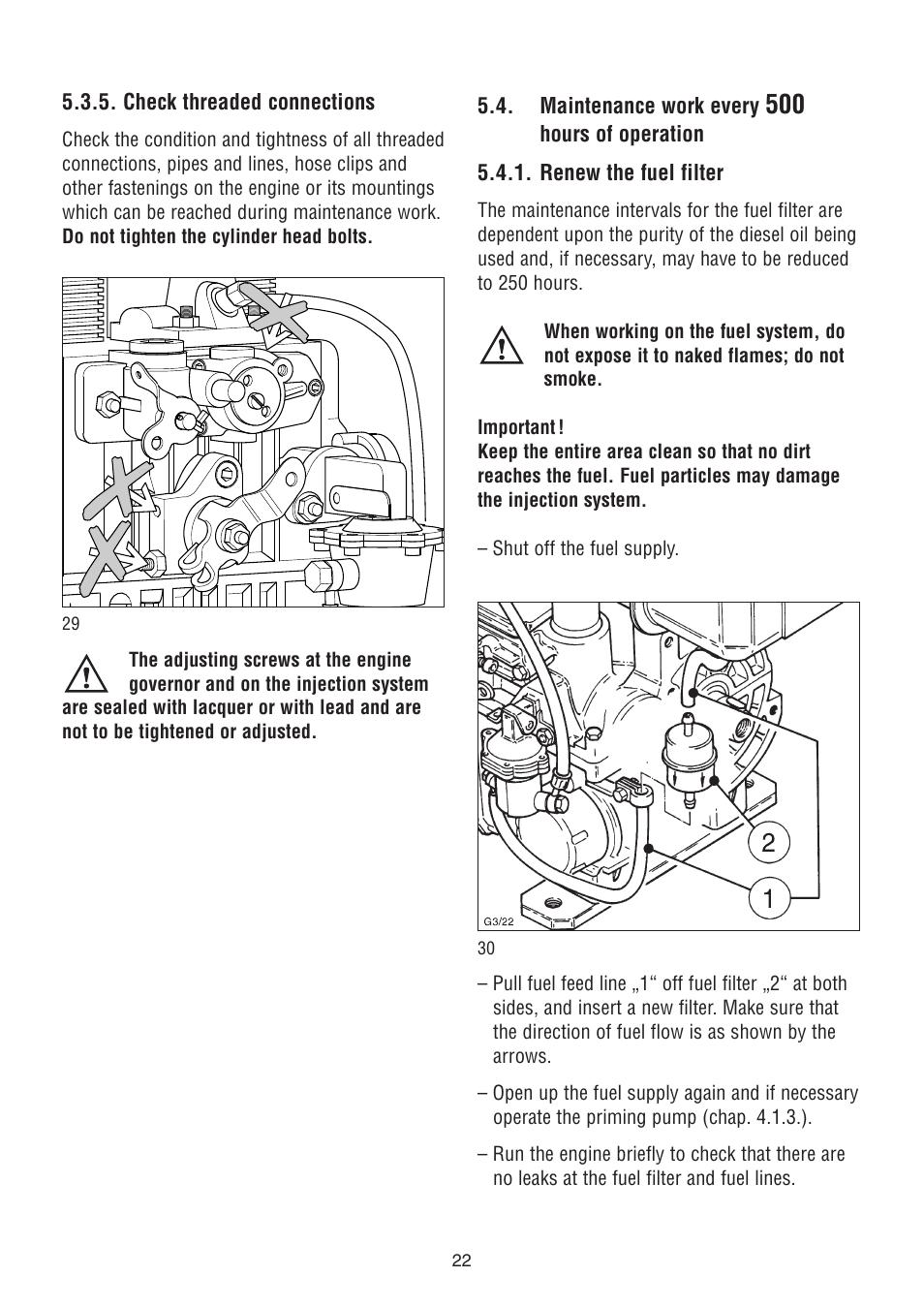 Hatz sel Fuel Filter - Wiring Diagrams Hatz Engine Wiring Diagram on