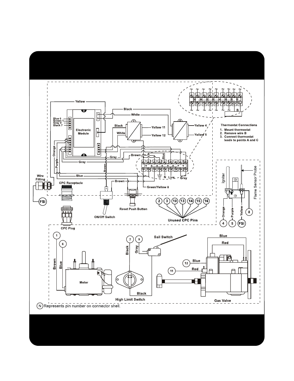 Forced Air Wiring Diagram List Of Schematic Circuit 1959 Fordi6 Component And Hired Hand Super Savers Rh Manualsdir Com Thermostat