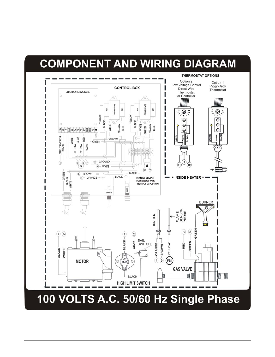 component and wiring diagram