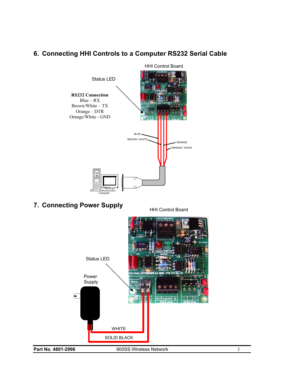 Connecting Power Supply Hired Hand Hh Software Hhnet Router Ir Repeater Circuit User Manual Page 5 8