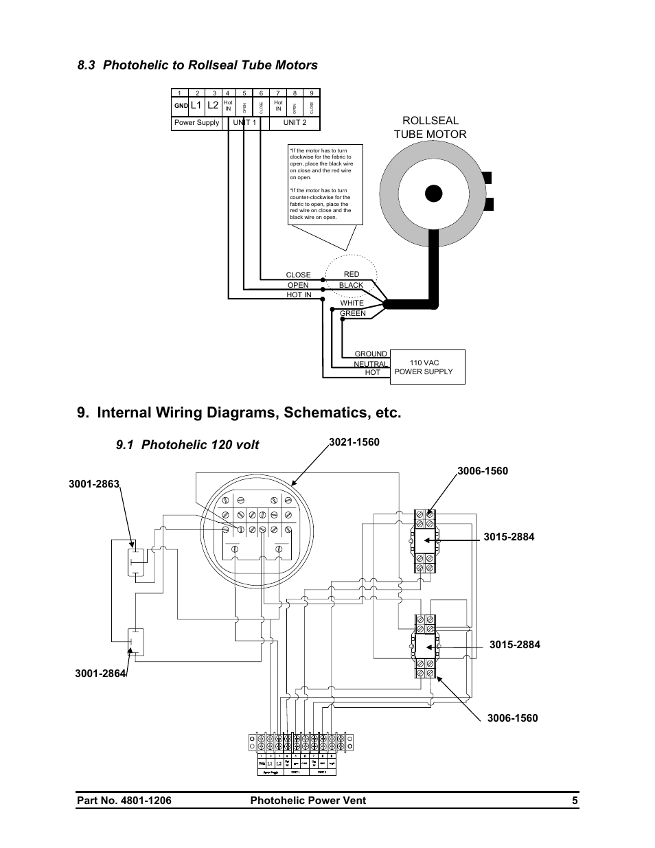 Power Vent Wiring Diagram Detailed Diagrams 120 Volt Motor Field Control Residential Electrical Awning