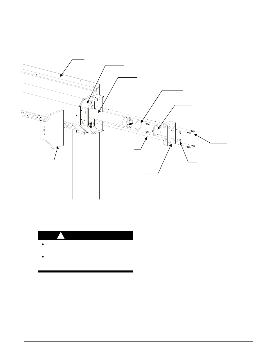 Somfy tube motor, Warning | Hired-Hand RS-300 Door User Manual | Page 13 /  30