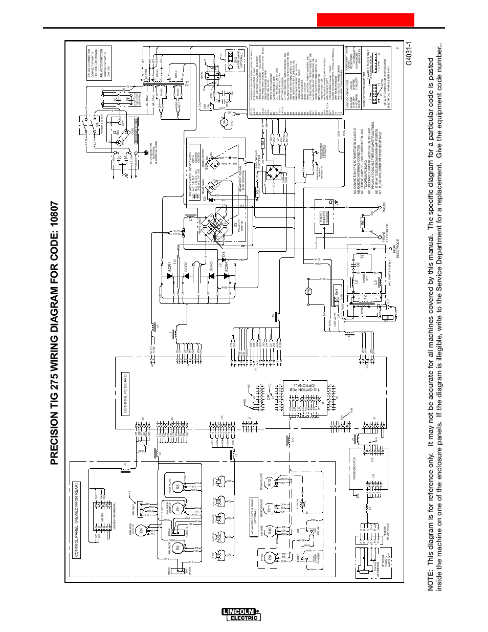 Diagram 2  Wiring Diagram  Precision Tig 275