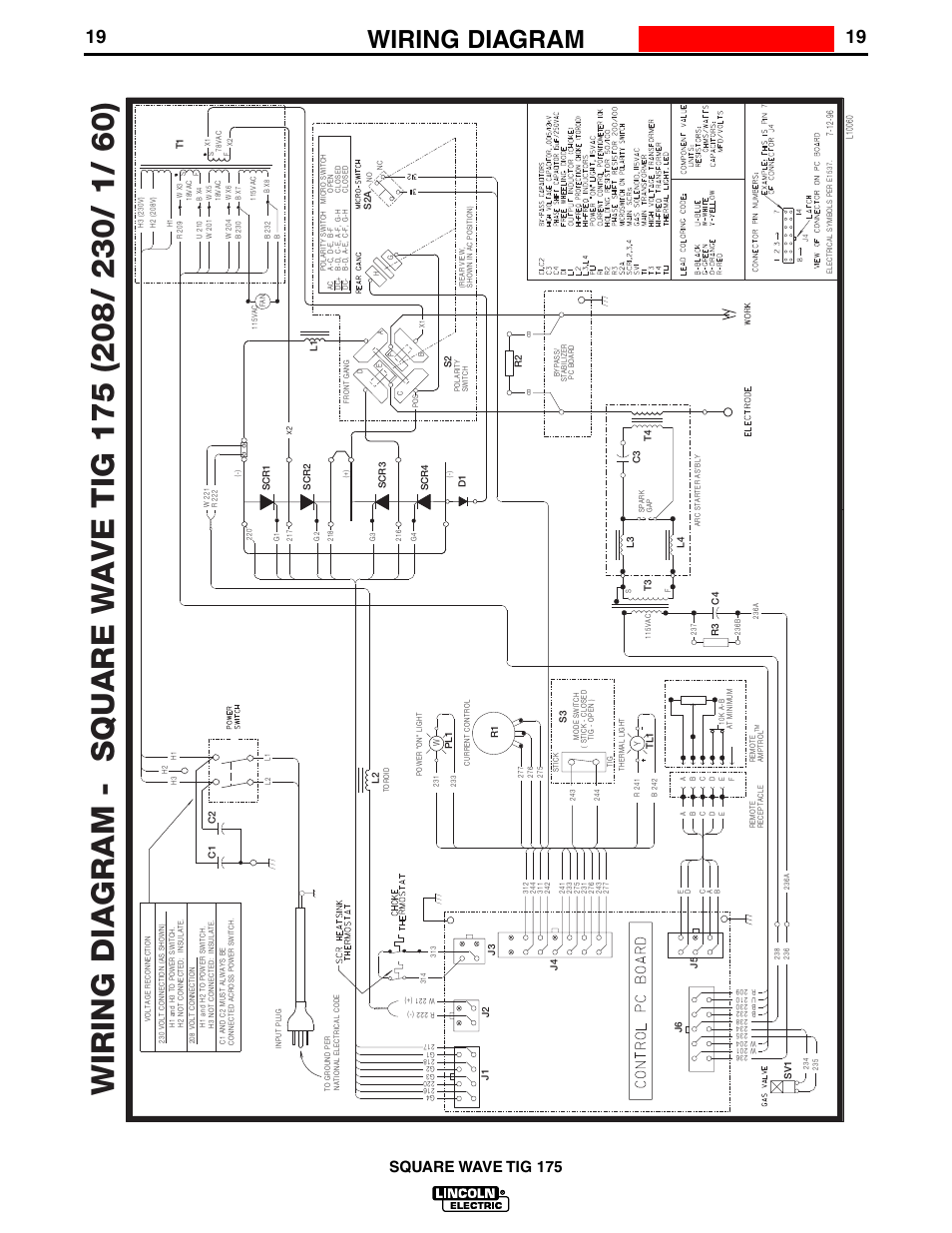Wiring Diagram  Enhanced Diagram  Square Wave Tig 175