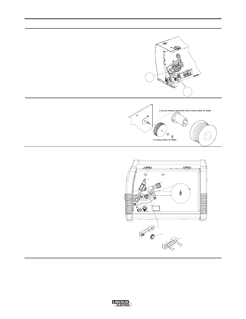 Operation Lincoln Electric Im890 Power Mig 140 180 User Manual Welding Torch Diagram Page 14 56