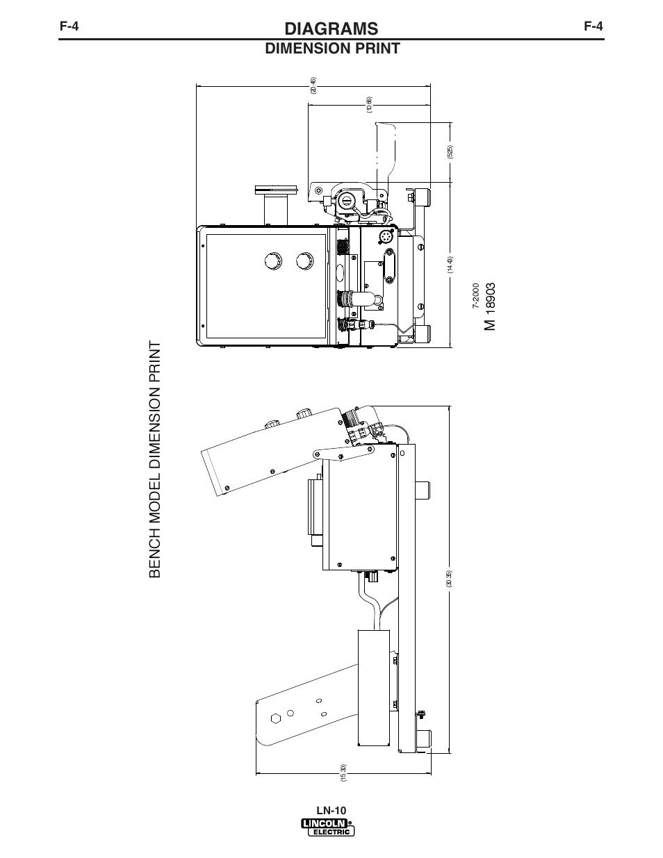 Diagrams  Dimension Print  Bench Model Dimension Print