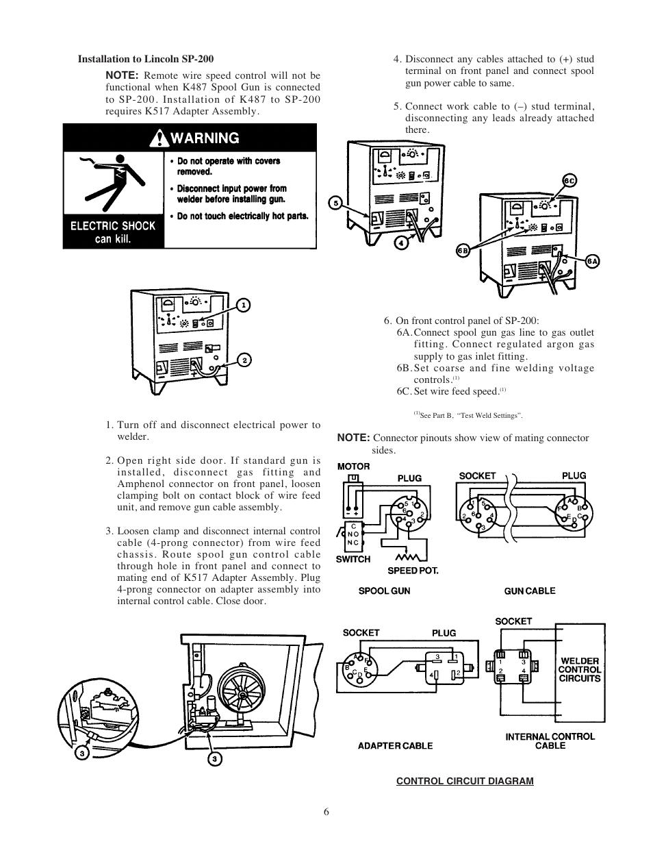 lincoln electric im408 magnum sg spool gun user manual page 13 25 rh manualsdir com