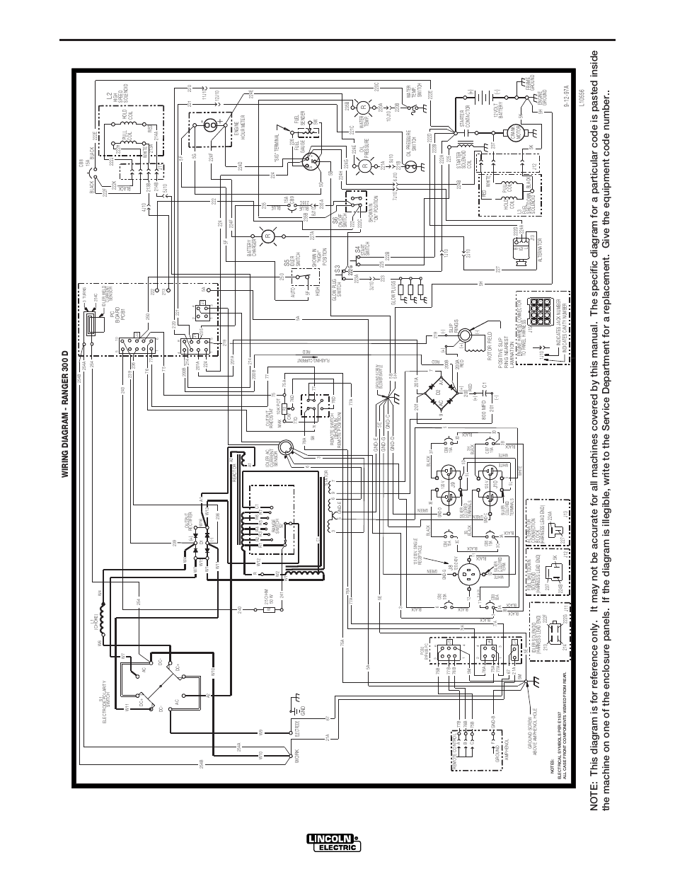 Lincoln Ranger Wiring Diagram Schematics 1997 Town Car 300 D Electric 1965 Diagrams Automotive