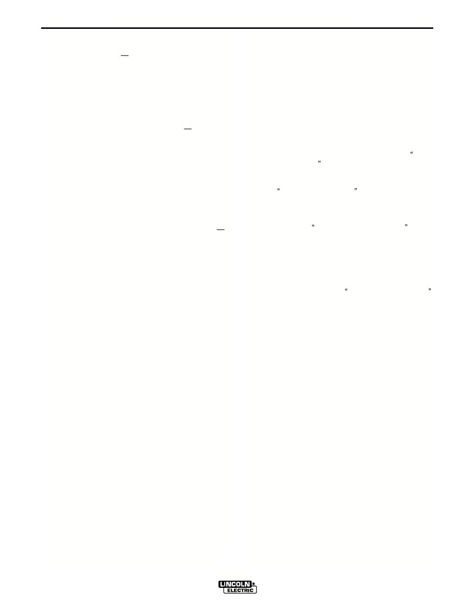 Accessories | Lincoln Electric IM563 PRO 155 User Manual