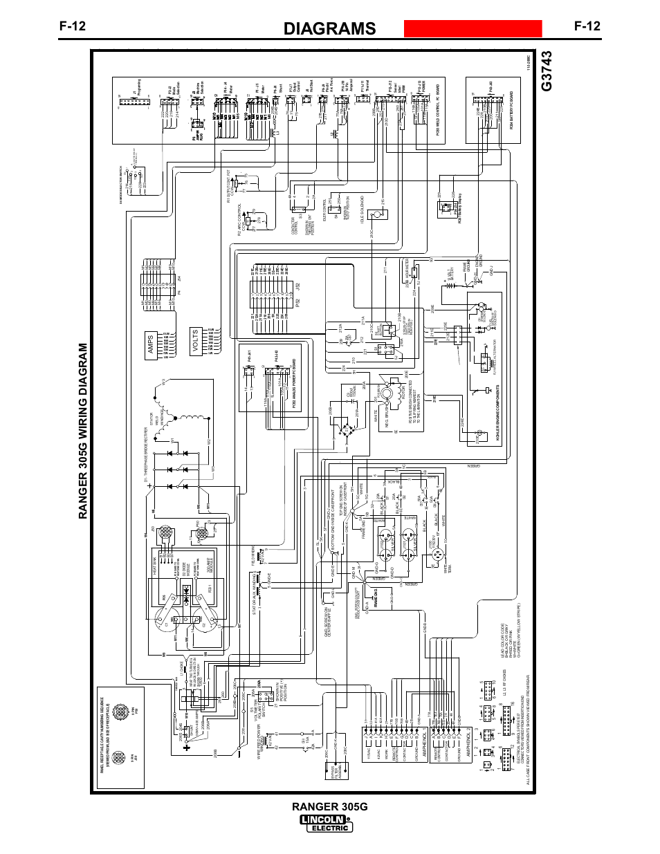 Lincoln 305g Wiring Diagram Diagrams Schematic Schematics Ranger 305d 34 Images Ls Relay