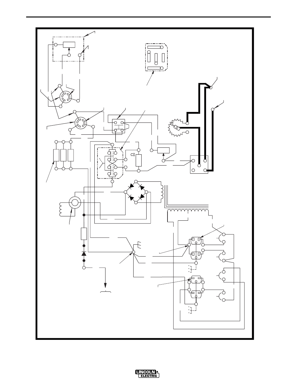 lincoln electric im581 sae400 page28 wiring diagrams, sae400 weld'n air, control wiring diagram sae 400