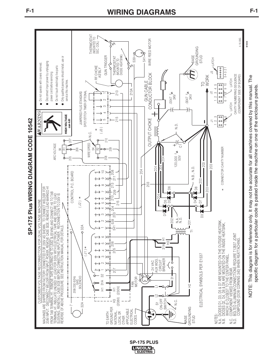 Lincoln P203 Wiring Diagram Libraries