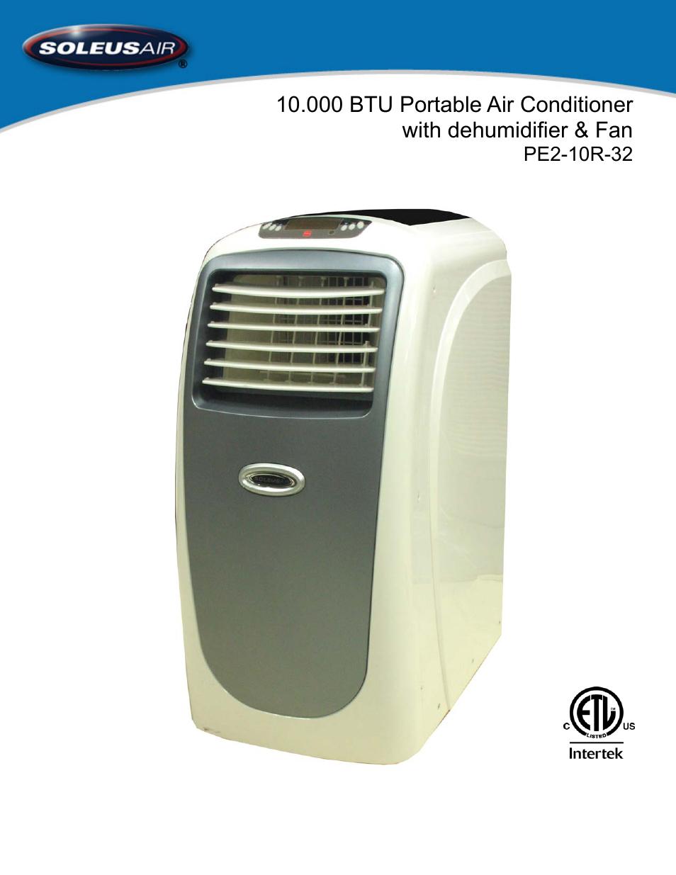 soleusair pe2 10r 32 user manual 16 pages rh manualsdir com soleus air dehumidifier manual hmt-d70eip-a soleus air dehumidifier manual gl-deh-70eip