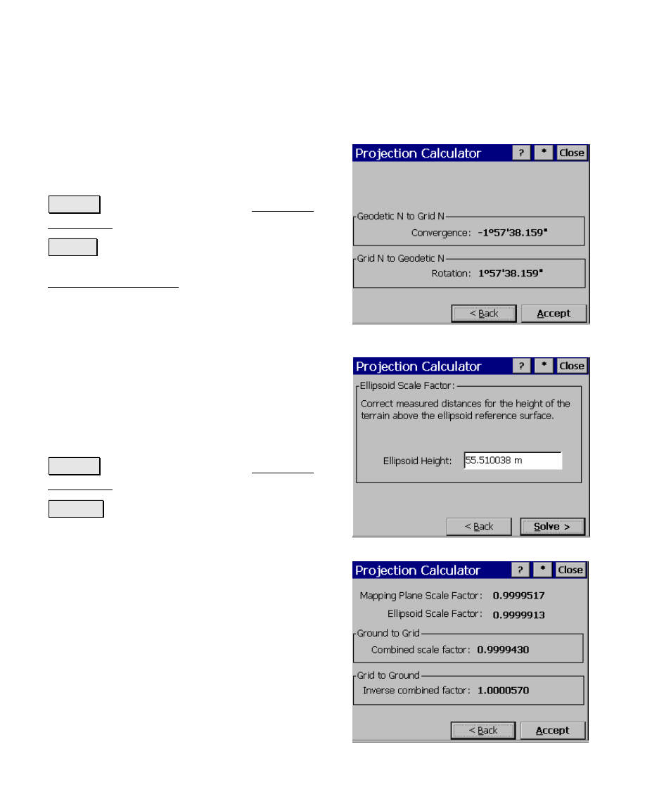 Wgs84 ellipsoid height calculator