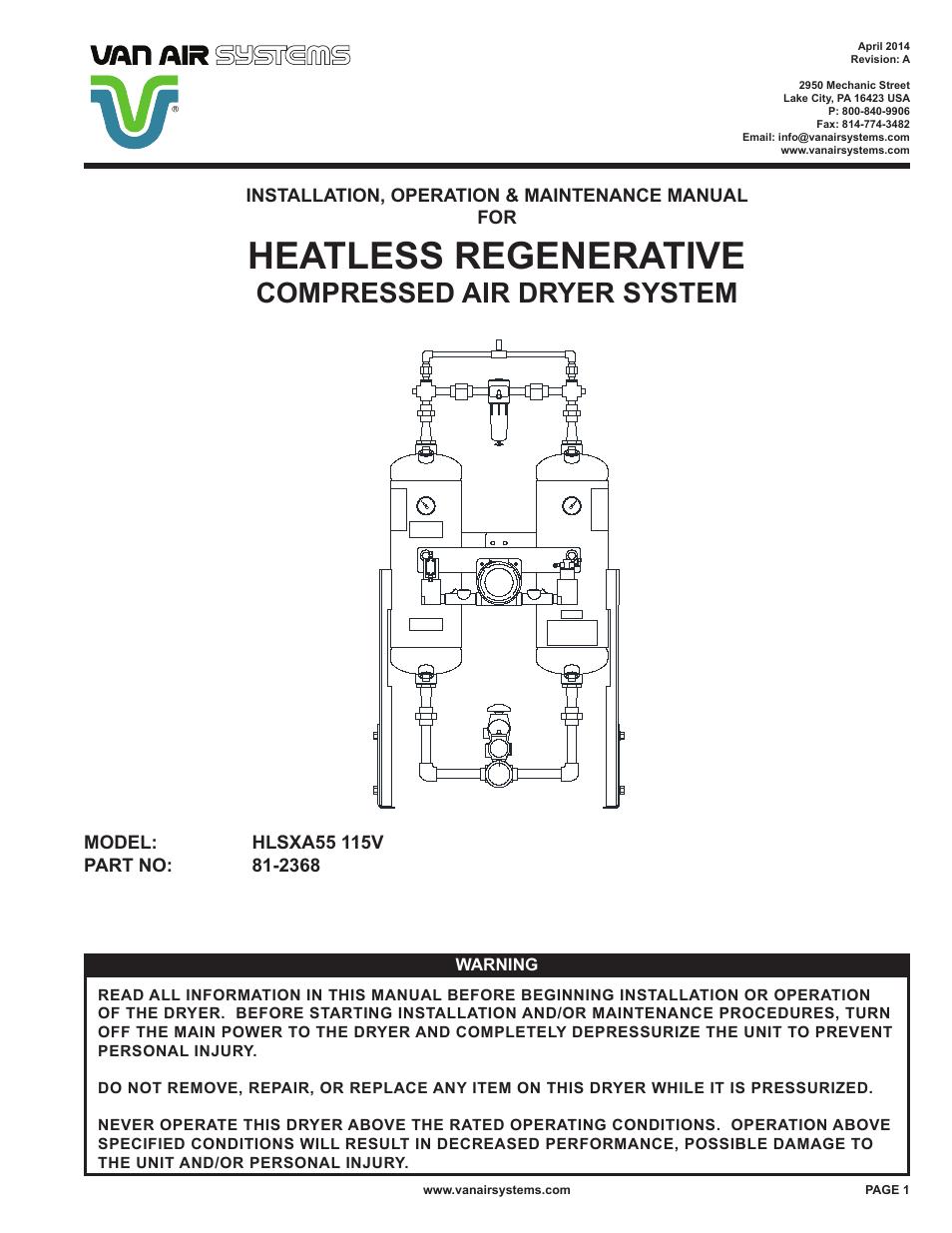 Ood Fee Installation Maintenae Repair Michaelieclark Vanair Wiring Diagram Page 272