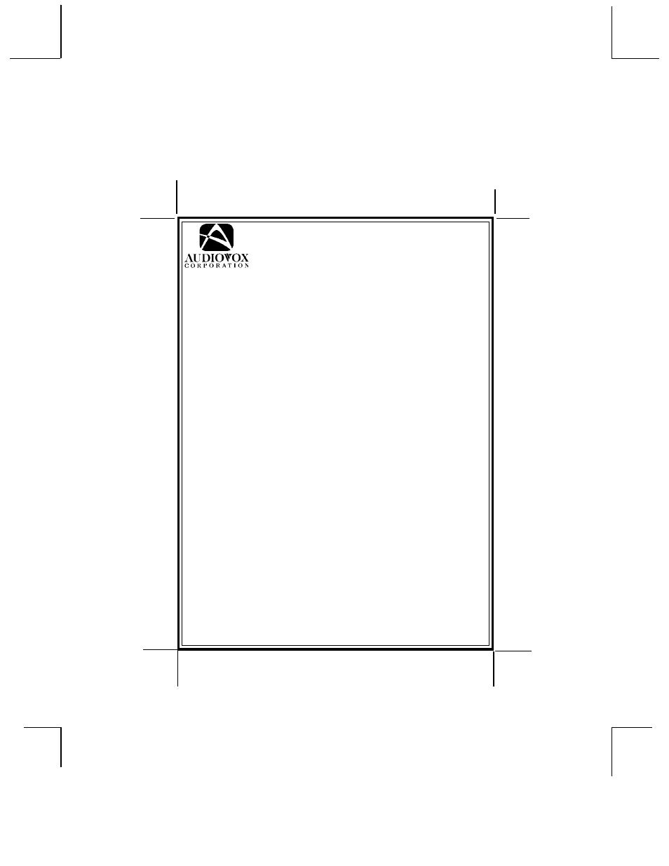Audiovox Car Alarm Prestige 230i Wiring Diagramcar Warlock Diagram 5bcr03 Page1 For Model Ax900 Diagrams At