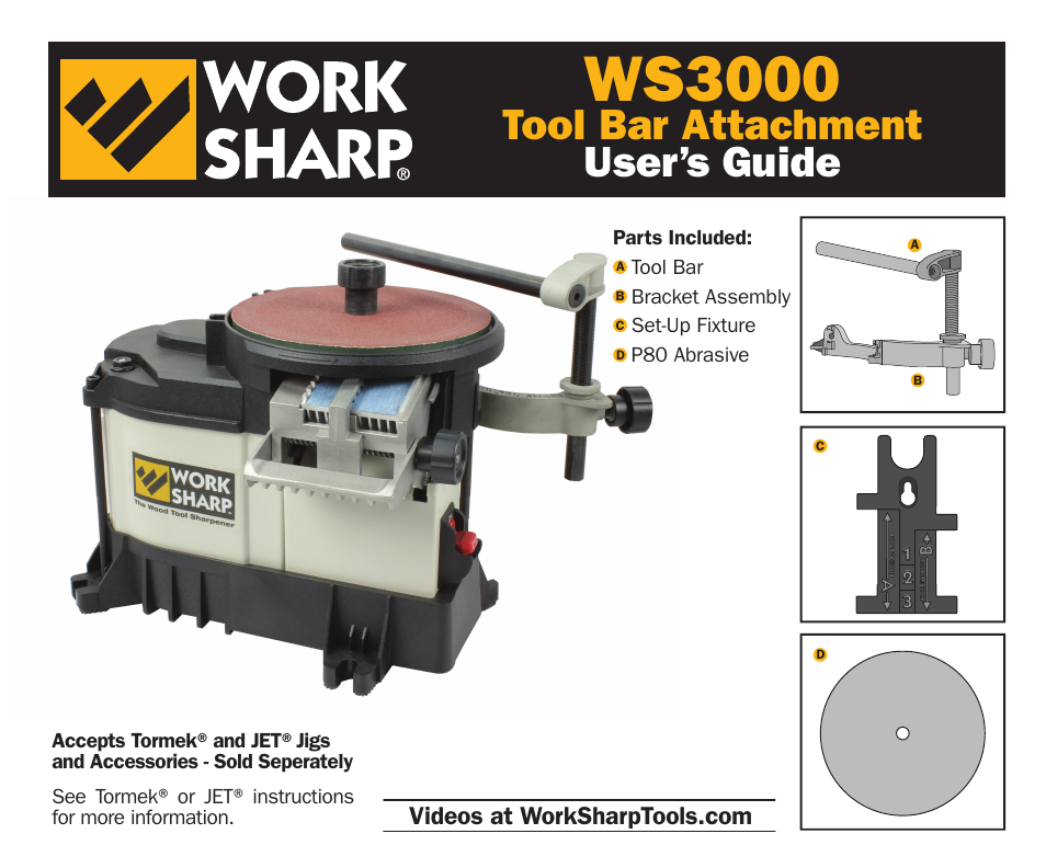 work sharp ws3000 tool bar attachment user manual 16 pages honeywell user guide cm927 honeywell user guide st9400c