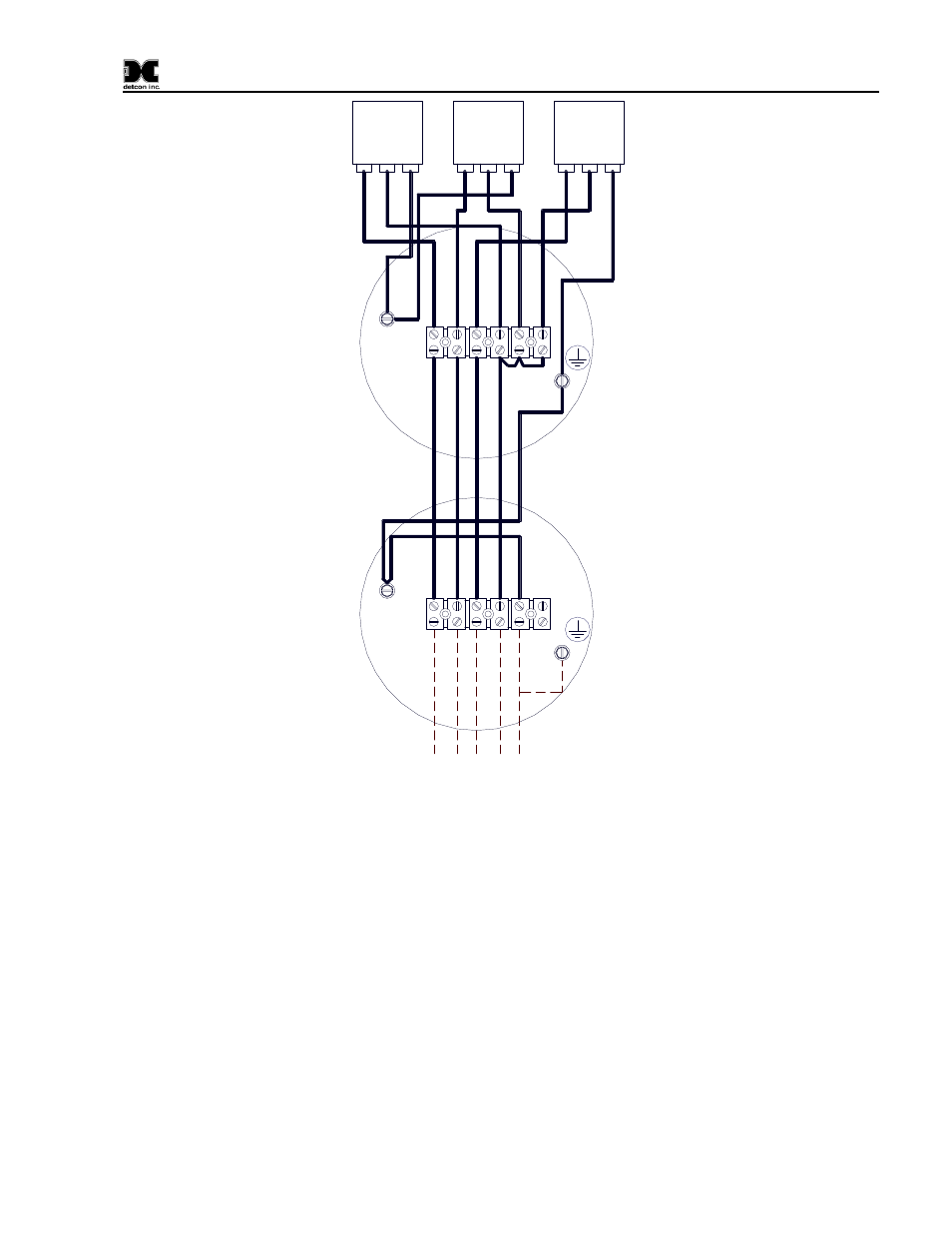 Figure 5 120 240vac Wiring Diagram Customer Input Way 240 Vac Plug Outlet Box 4