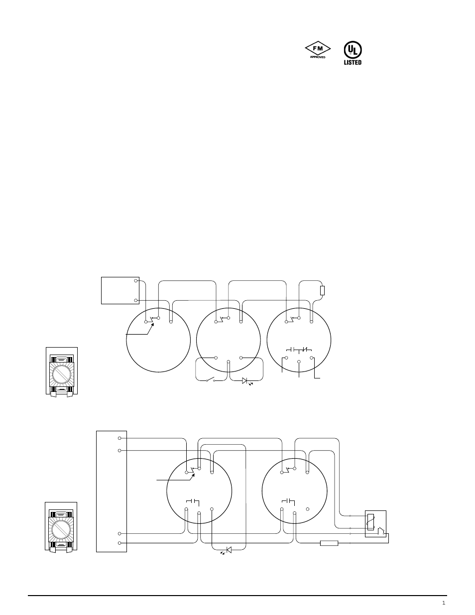 Edwards Signaling Connection Diagrams Wiring Diagram For Light Transformers Esl 700 Series User Manual 4 Pages Rh Manualsdir Com Horn Strobe Company