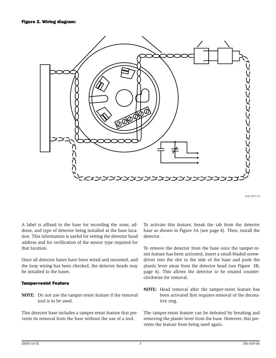 Fire Lite B224rba Plug In Relay Detector Bases User Manual Page Base Wiring Diagram 3 4 Also For B524rba