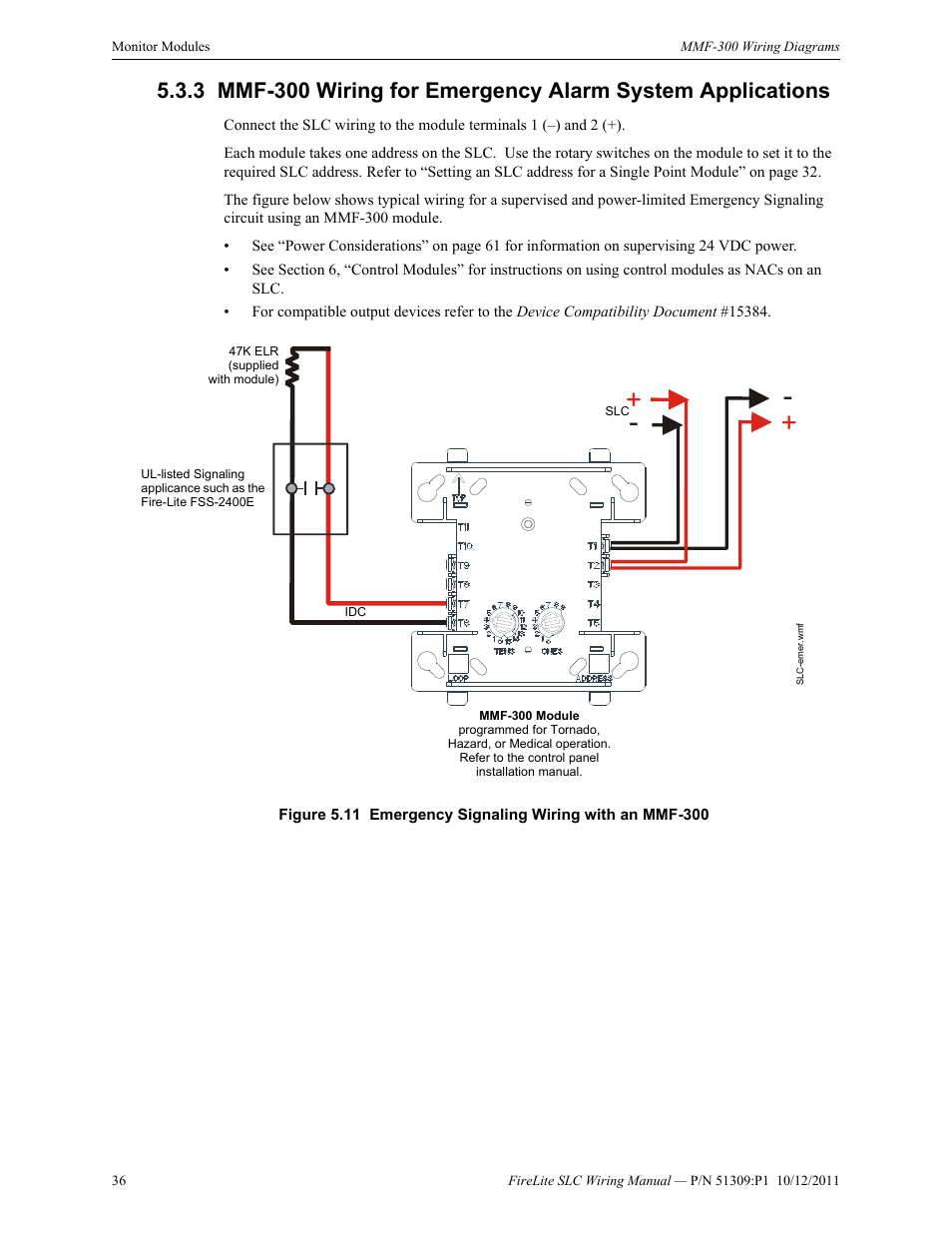 Fire Alarm Slc Diagram Wiring Schematic Security System Diagrams Lite Intelligent Control Panel Manual User