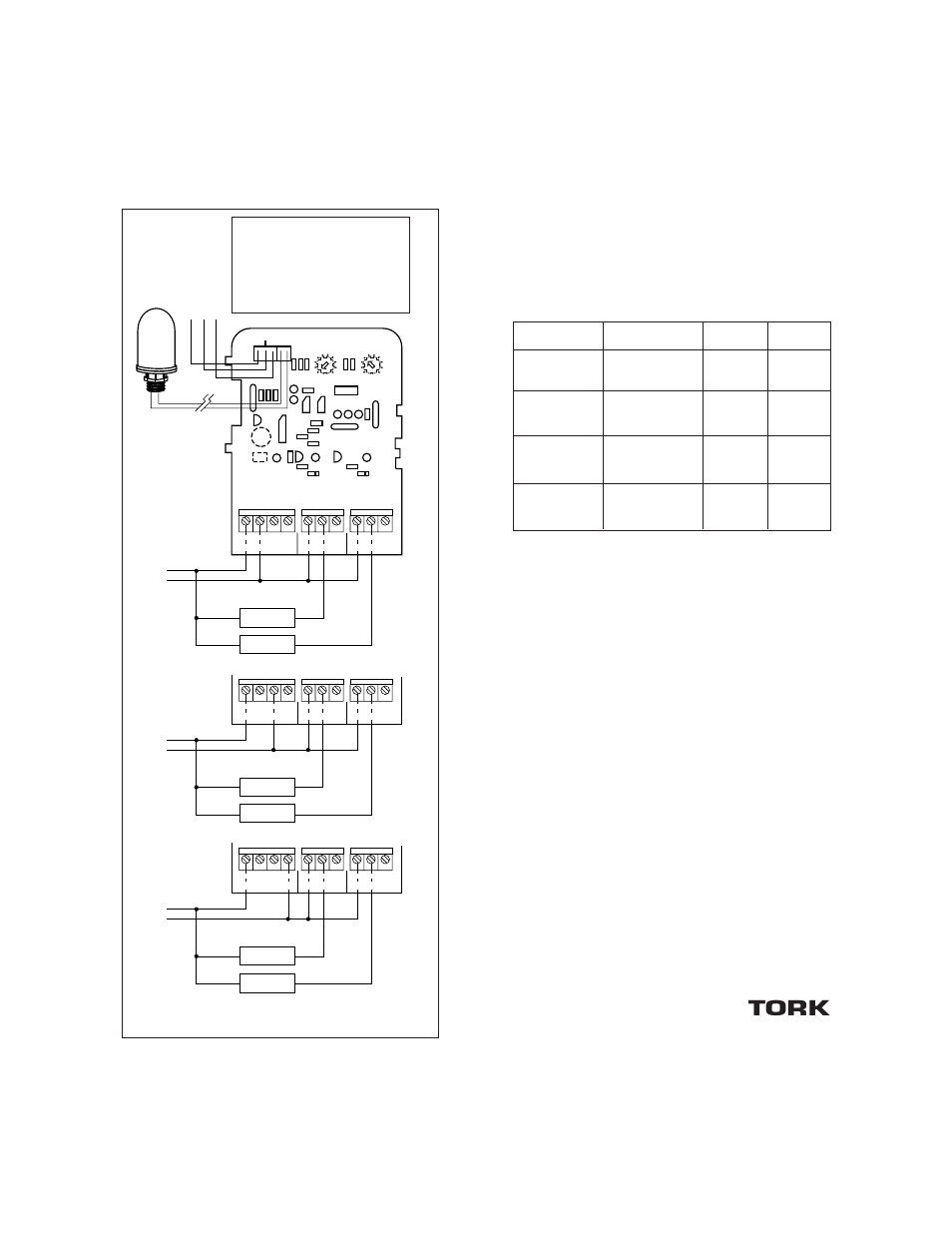 Tork Wiring Diagrams Electrical Ratings Nsi Industries Lc200 Photocell 277vac User Manual Page 3 4