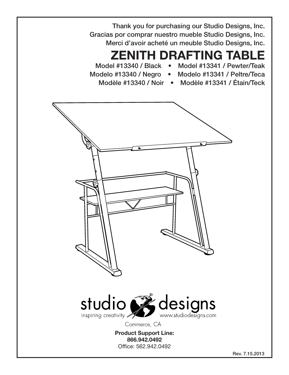zenith support manuals