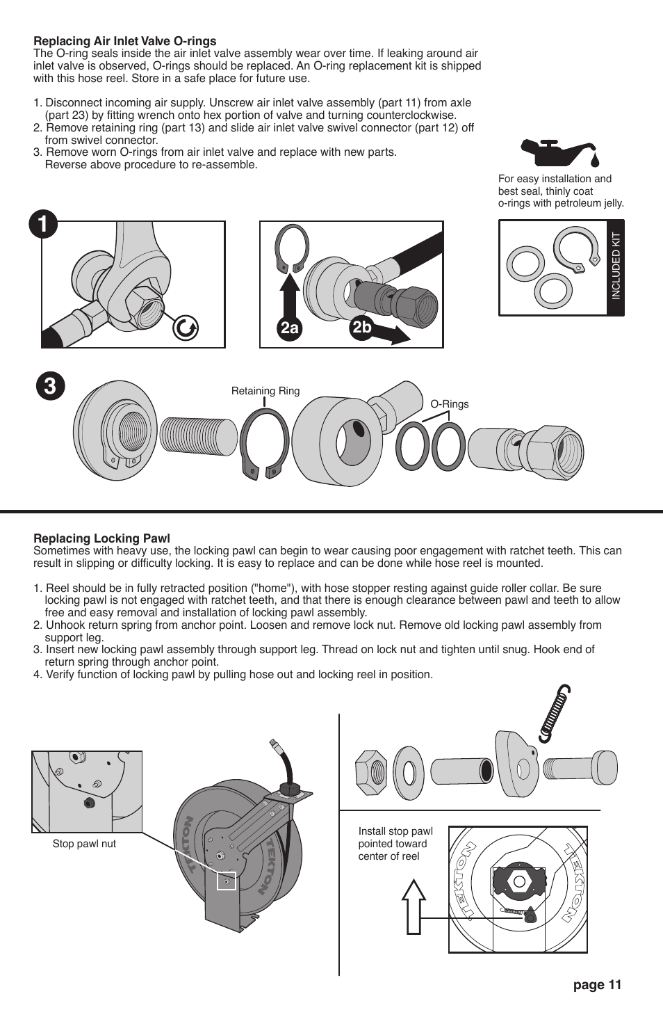 Garden Hose Reel Replacement Parts Manual Guide