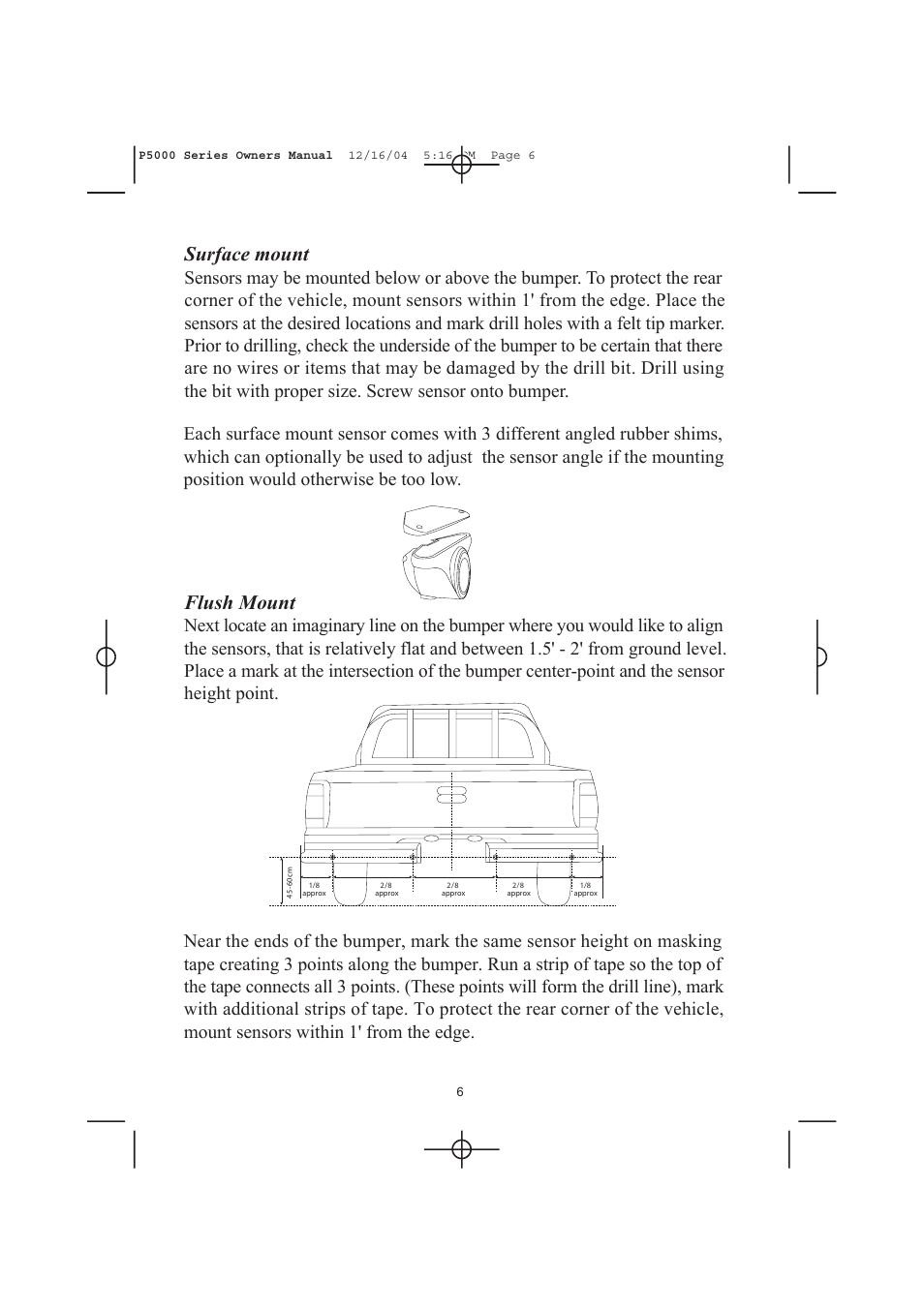 ... Array - flush mount surface mount ackton p5000 user manual page 6 12 rh  manualsdir ...