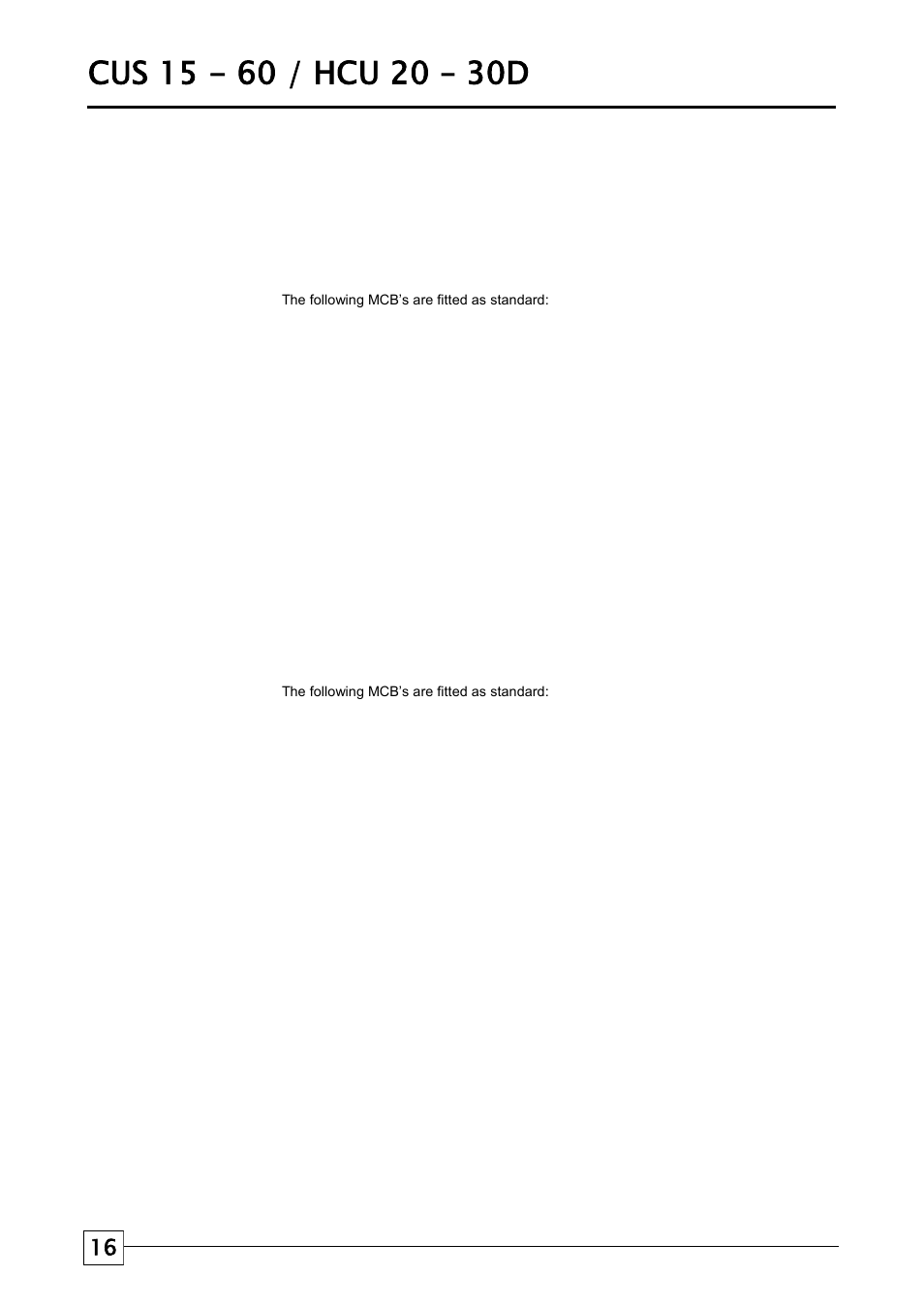 Condensing Units Electrical Information Airedale Wiring Diagram For Unit Cu 3kw 80kw User Manual Page 16 28