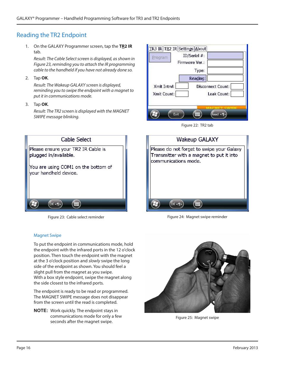 Badger Meter Galaxy User Manual Manual Guide