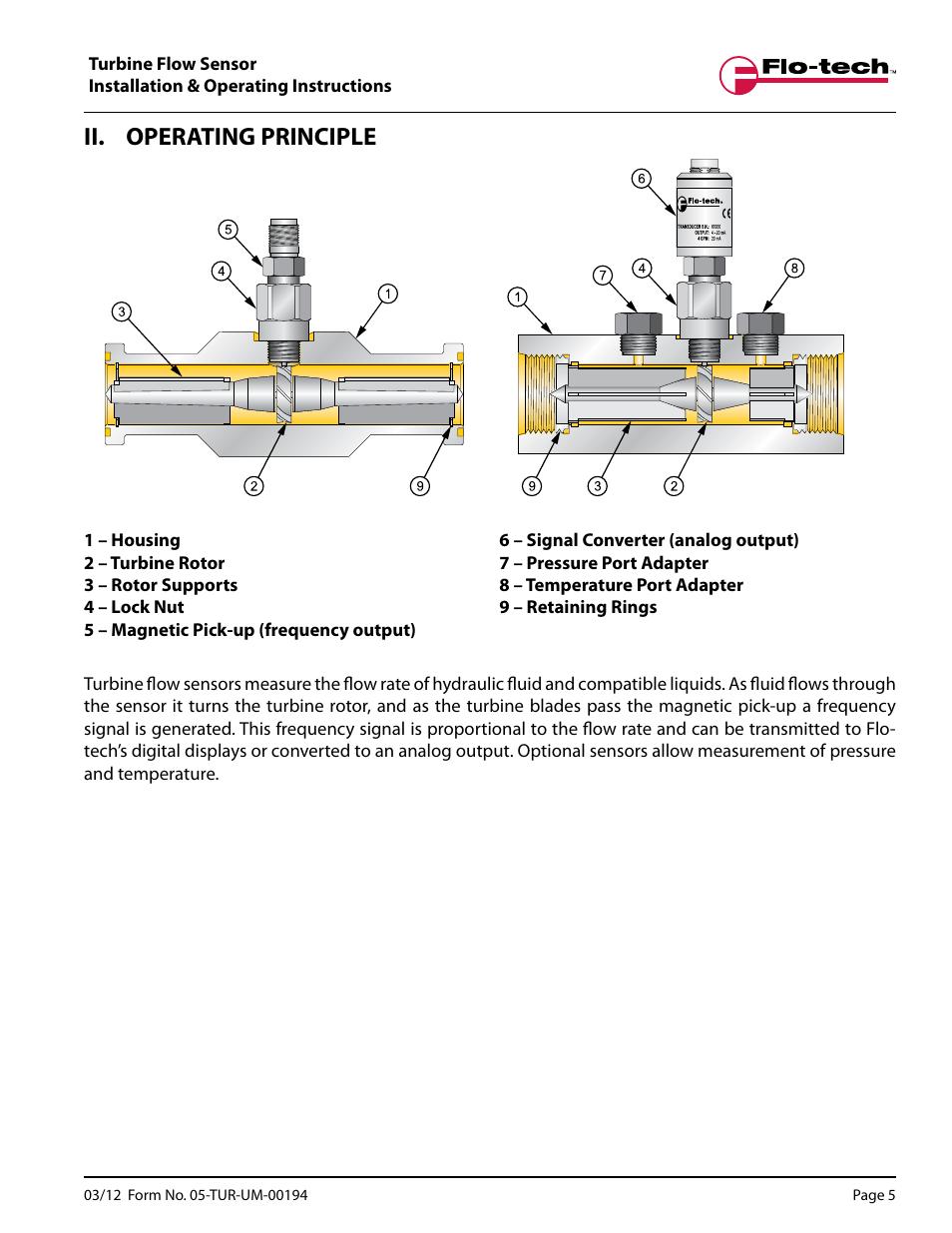 Badger Meter Turbine Flow Meters Hydraulic Fluids User Manual Guide